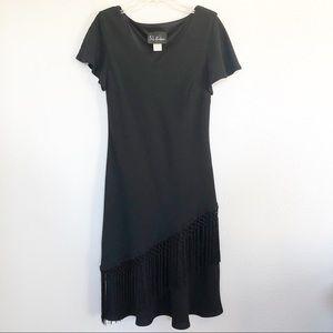 S.L. Fashions Little Black Dress Sz 6